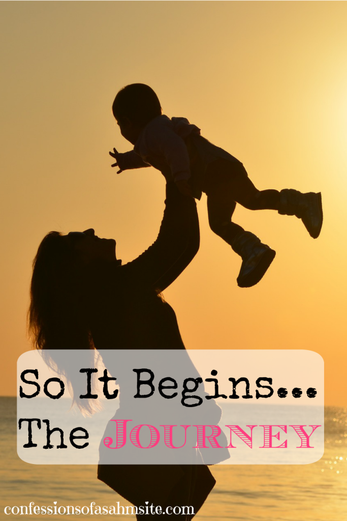 So it begins..the Journey. Great post for those transitioning from working out of the home to being a SAHM. Great perspective.