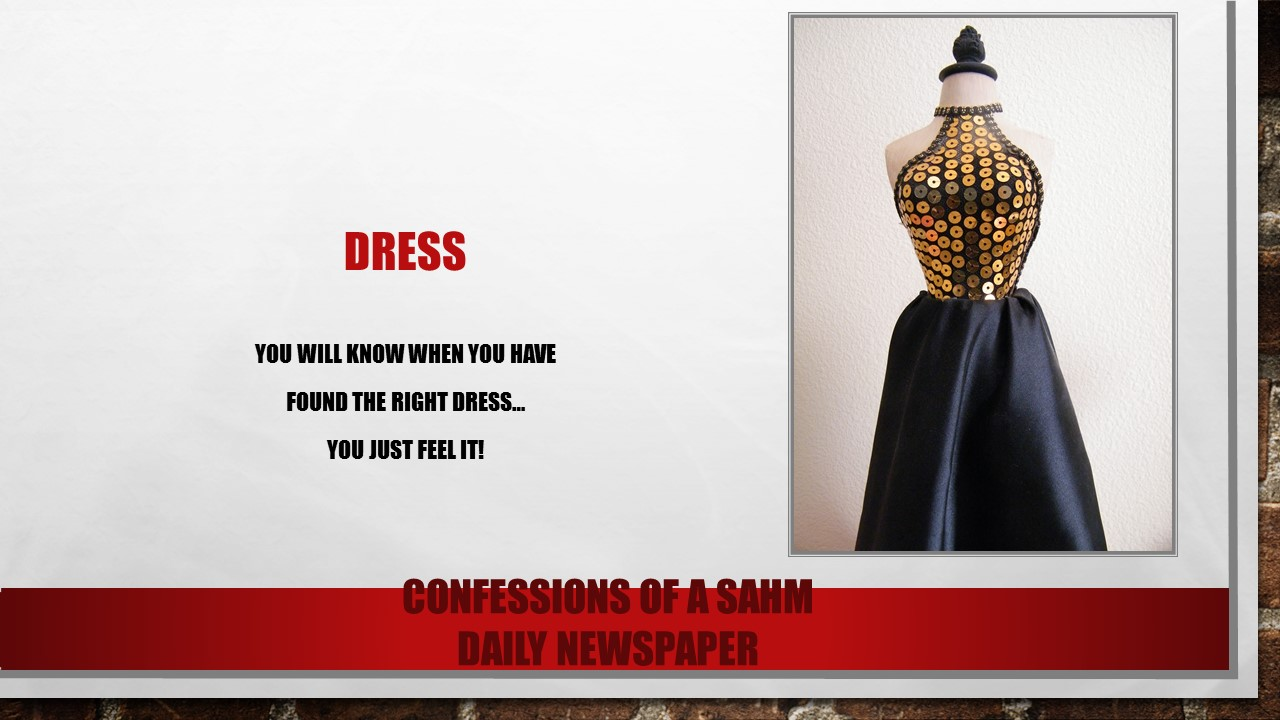 Dress newspaper