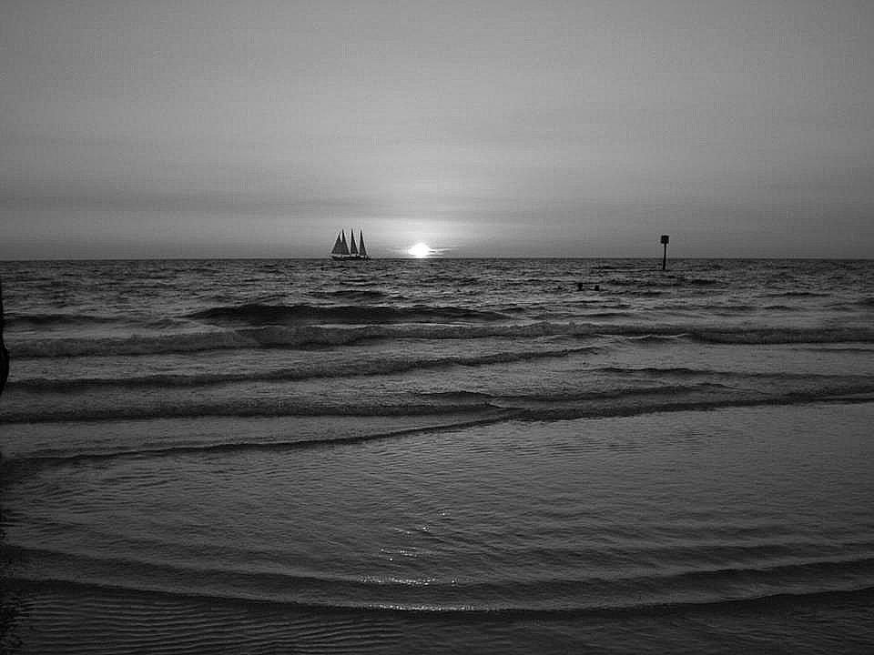 Fl beach sunset
