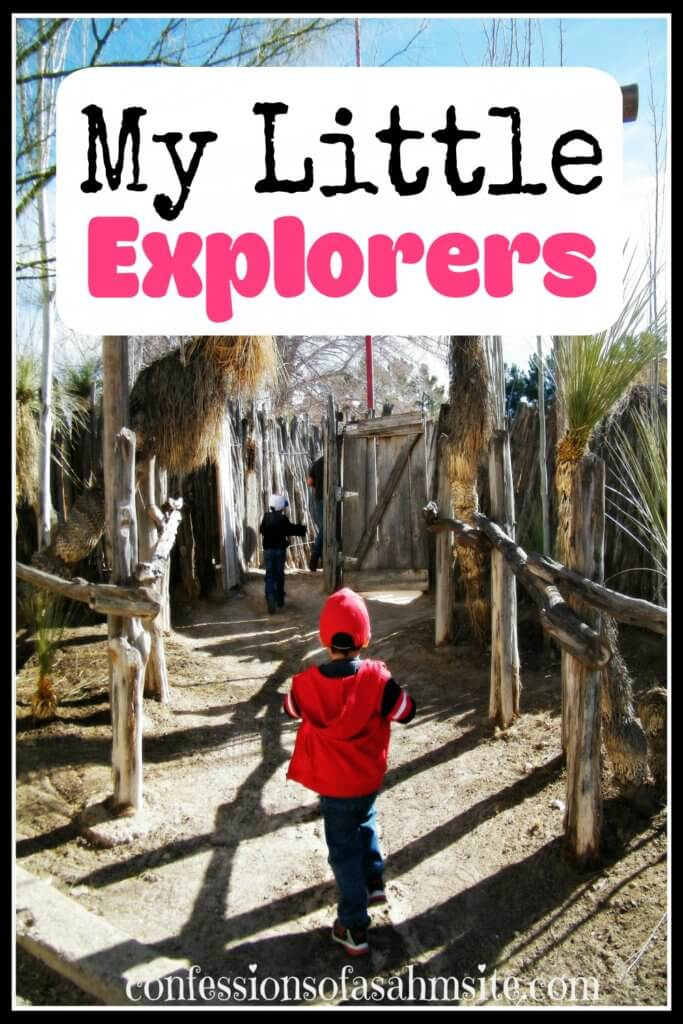 My Little Explorers. We decided to embark on a journey out to the West of Texas, Fabens to be exact. We hadn't been there for the longest time plus when we had gone, it was only to eat and we didn't have our two energetic boys.