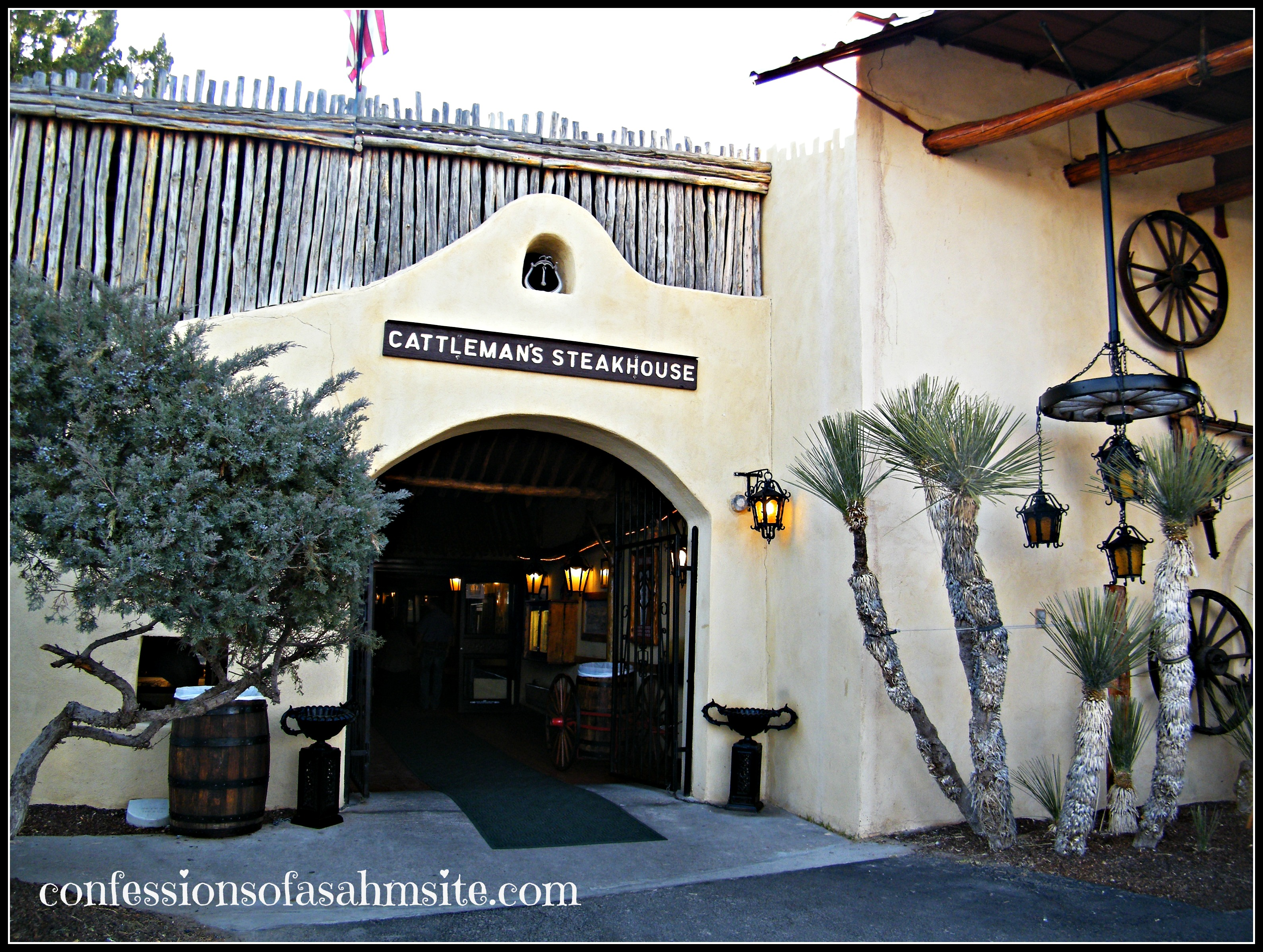 entrance cattlemans