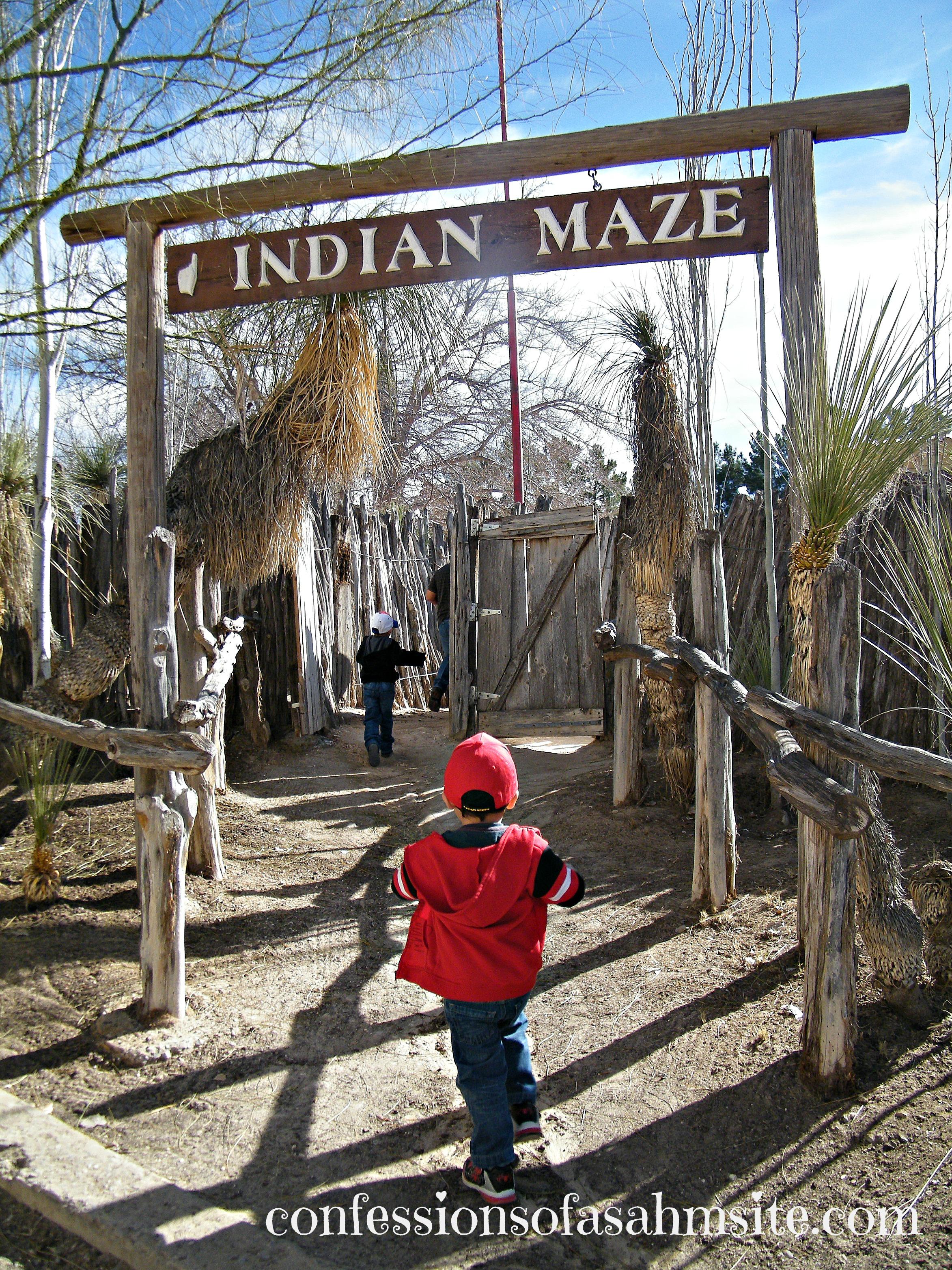 Indian maze