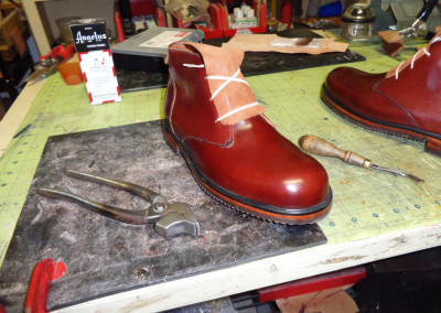 Leather craftsman shoes
