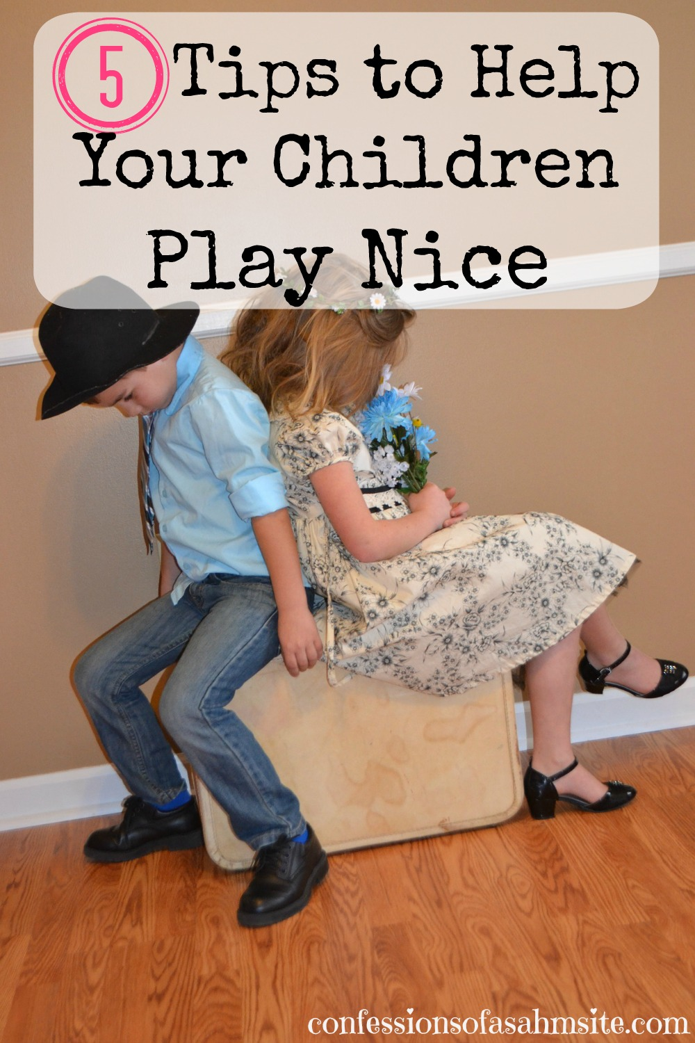 5 Tips To Help Your Children Play Nice. Just what I needed to read! Always a hard time with my kids fighting. Great tips, especially number 4.