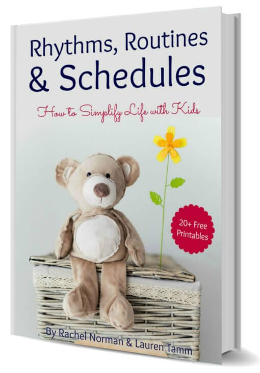 Routines Rhythms and Schedules