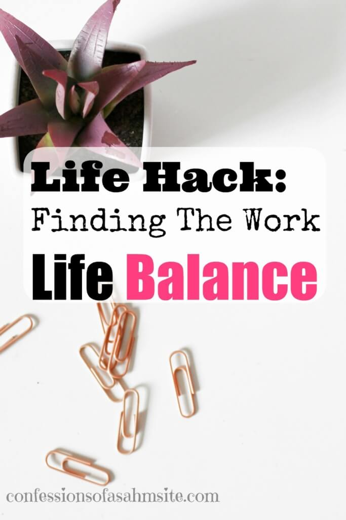 Life Hack: Finding The Work Life Balance. Very true post that tells us what really is important to us and how to juggle these tasks. Great read for those with trying to find a way to juggle the everyday tasks.
