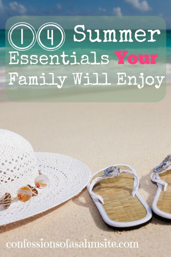 14 Summer Essentials Your Family Will Enjoy. Check out some cool gadgets and items for your Summer parties or Beach Wedding Ideas.