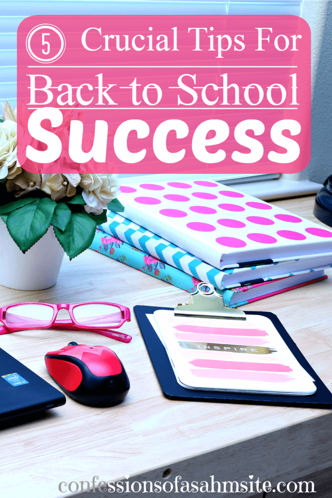 5 Crucial Tips for Back To School Success. Back to school is just around the corner and there are ways we can help our children succeed. These tips are really important for our children's sake and should be something we can follow and listen to. Read these tips, especially number 3.