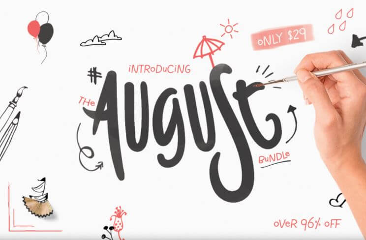Hungry Jpeg August Bundle