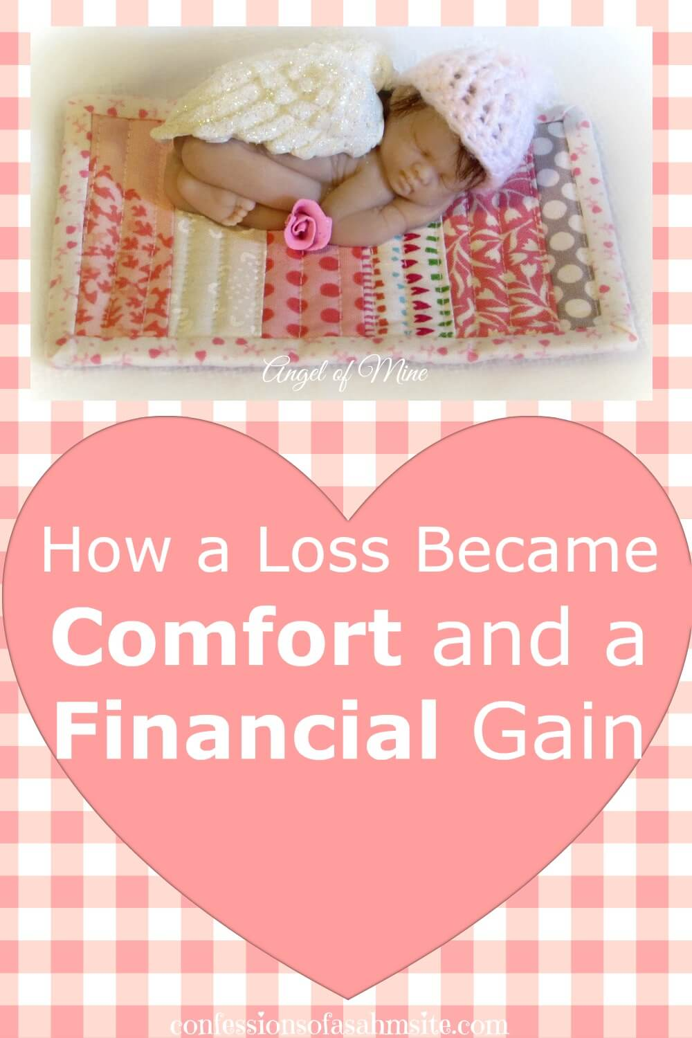 How a loss became comfort and a financial gain for this mom. Sometimes life brings pain but we have to learn to cope with it. Read the story of this mompreneur to see how this tragedy brought comfort and financial gain.