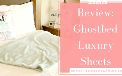Review: Ghostbed Luxury Sheets
